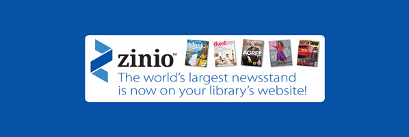 New digital magazine collection, Zinio