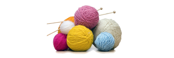 KnitKnights, every Monday, 6:30pm