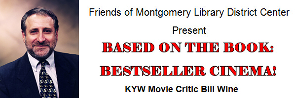 Movie Critic Bill Wine to speak at the Main Library on April 12