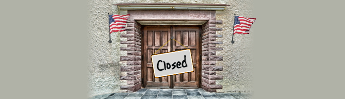 Library Closed - Independence Day, July 2 & July 4