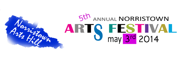 Norristown Arts Hill Festival Flyer in English and Spanish