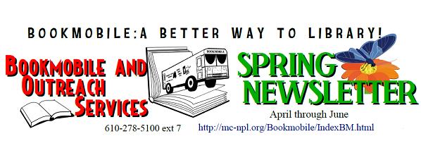 Bookmobile Spring 2018 Newsletter