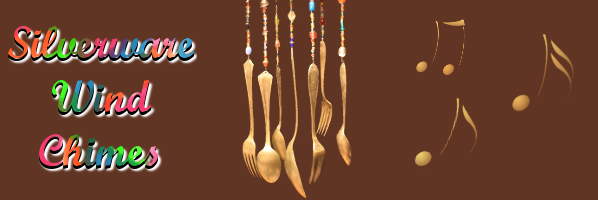 Silverware Wind Chimes - July 22, 6:30pm - PREREGISTER