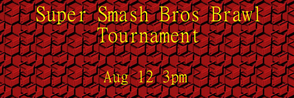 Super Smash Bros. Brawl Tournament at Main Library