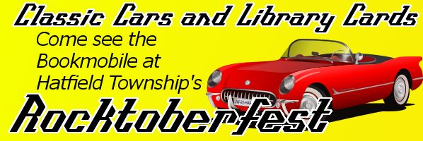 We're revving our engine for Hatfield Township's Rocktoberfest!