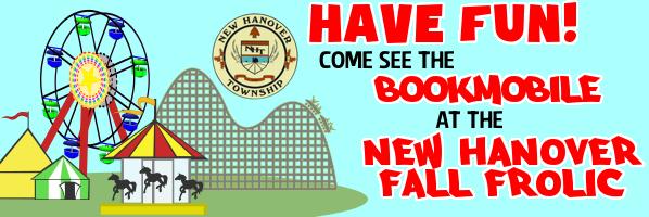 Bookmobile at New Hanover Fall Frolic