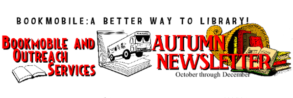Bookmobile Autumn 2014 Newsletter