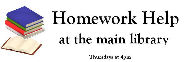 Homework Help at The Main Library
