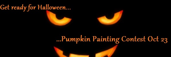 Pumpkin Painting Contest at The Main Library