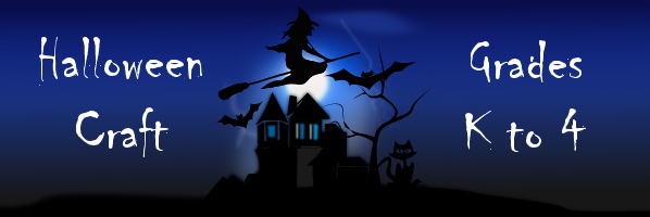 Halloween Craft - Oct 22, 4:15 or 4:45 - PREREGISTER