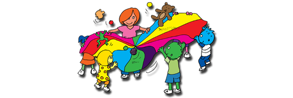 Preschool Parachute Play, Thursdays, 11/19, 12/3, 12/10, 12/24, 12/31, 1/7