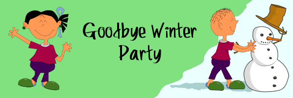Goodby Winter Party - April 6, 1:30 - PREREGISTER
