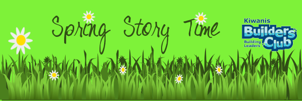 Spring Story Time - Saturday, April 25, 10:30am - PREREGISTER