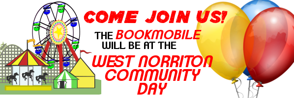 The Bookmobile at West Norriton Community Day