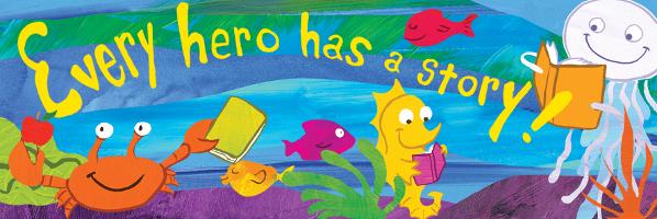 Super Hero Story Time - July 30, 10:15am - PREREGISTER