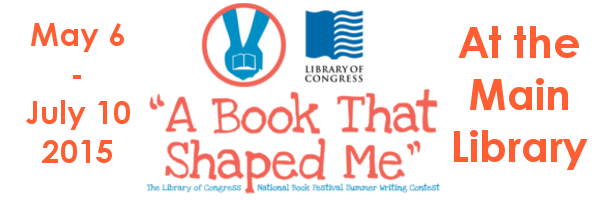 """A Book That Shaped Me"" Contest at The Main Library"