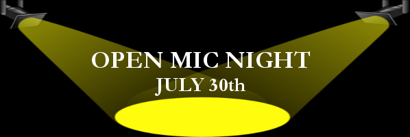 Open Mic Night and Talent Show at The Main Library