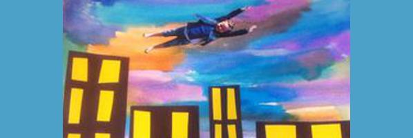 Cityscape Flyers Art, Thursday, July 9th, 2:00pm, K-4th graders