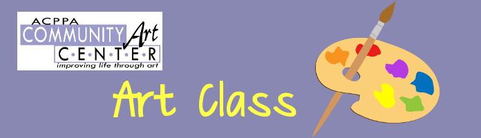 Art Class - Monday, August 1 & 8 @ 2:30 - PREREGISTER