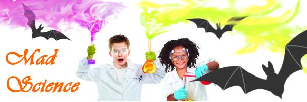 Mad Science Halloween Show, October 12, 10:30am
