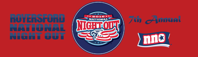 7th Annual Royersford National Night Out - August 2, 5:00-8:00 pm
