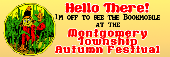 Bookmobile at Montgomery Township Autumn Festival