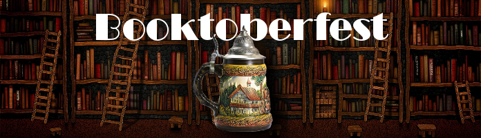 Booktoberfest - Saturday, October 15, 7-9:30pm, Sacred Heart Parish Gym - Buy your tickets now and SAVE