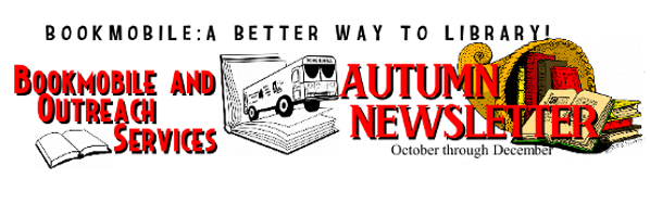 Bookmobile Autumn Newsletter