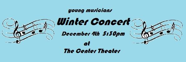 Centre Theater Music School Winter Concert