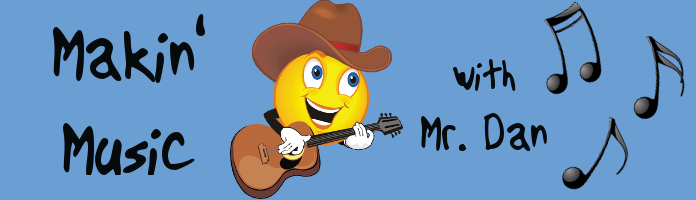 Makin' Music with Mr. Dan, Tues, May 3 & 17 @ 10:30 or 11:15 - PREREGISTER