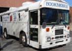 Bookmobile bus