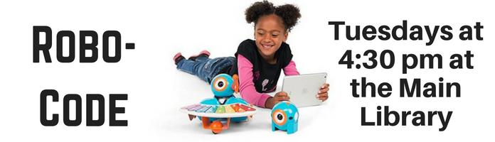 KidsMake-RoboCode at the Main Library