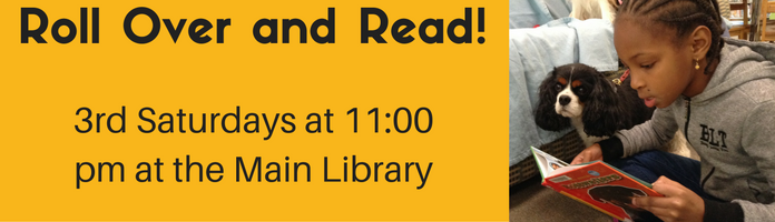 Roll Over and Read! at the Main Library
