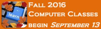 Fall 2016 Computer Classes