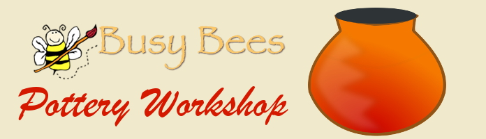 Busy Bees Pottery Workshop - Thurs, July 7 @ 2:30 or 3:30 - PREREGISTER