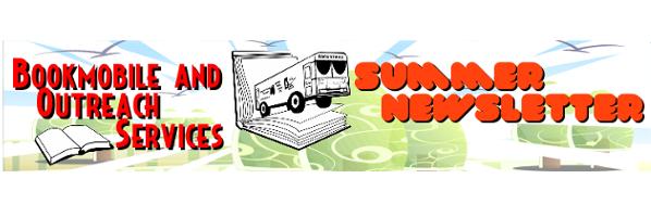 Bookmobile Newsletter for Summer 2016