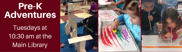 Pre-K Adventures at the Main Library