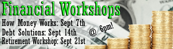 Financial Workshop at Main Library