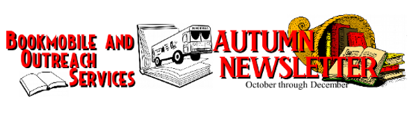 Bookmobile Autumn 2016 Newsletter