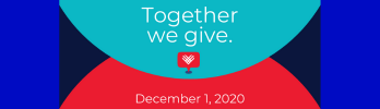 Giving Tuesday is on December 1, 2020