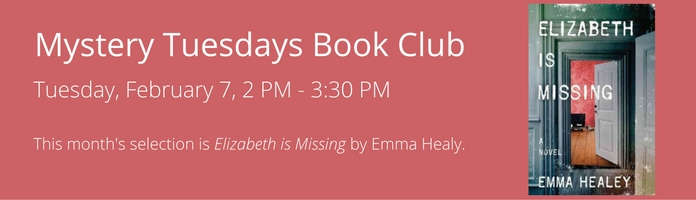 Mystery Tuesdays Book Club at Main Library