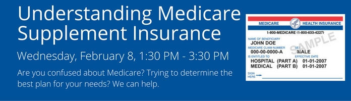 Understanding Medicare Supplement Insurance at the Main Library