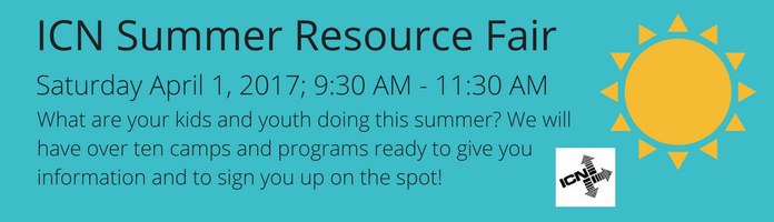 ICN Summer Resource Fair at the Main Library