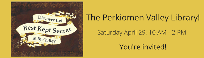 Save the Date for the Perkiomen Valley Library