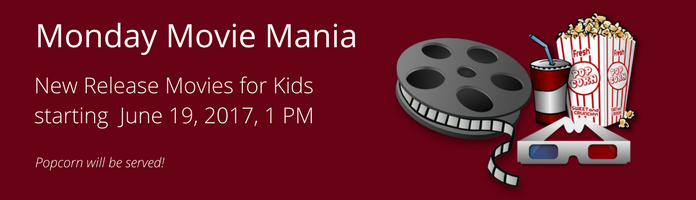 Monday Movie Madness at the Main Library