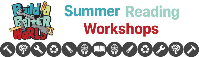 Summer Reading Workshops - Monday, June 26 @ 1:30 pm - PREREGISTER