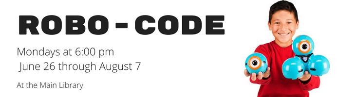 Robo-Code at the Main Library