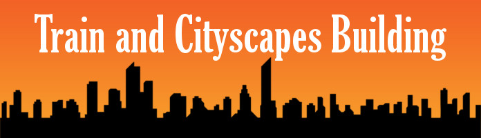 Train & Cityscapes Building - Friday, July 7 @ 10:15 am