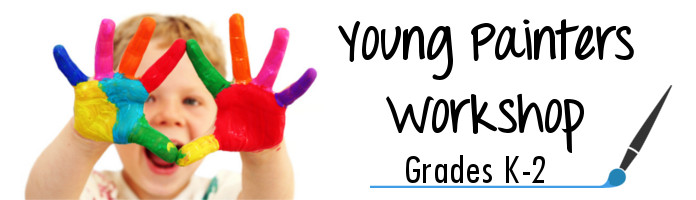 Young Painters Workshop - Friday, July 28 @ 10:30 am - PREREGISTER
