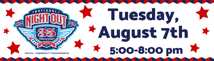 Royersford's National Night Out - Tuesday, August 7th @ 5:00-8:00 pm